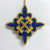 Fleur-de-Lis Star Zardozi Ornament - Tara Projects