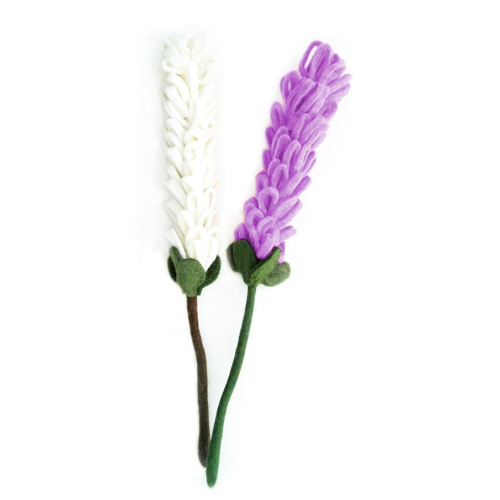 Felt Lavender Stem - Sold Individually - Hamro Village