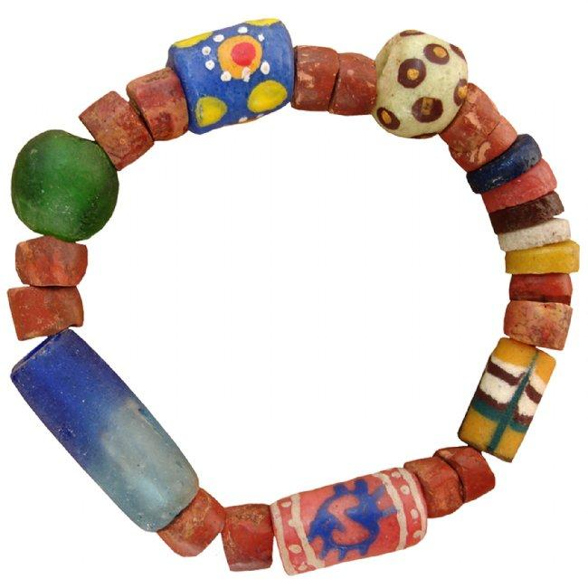 Recycled Glass Bead Eco Bracelet - Global Mamas