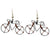 Wire Bicycle Earrings - Creative Alternatives