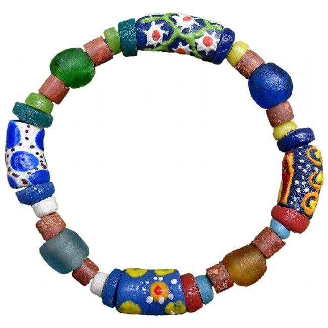 Recycled Glass Bead Sister Bracelet - Global Mamas
