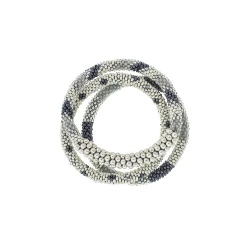 Statement Roll-On Bracelets, Grey Sailor - Aid Through Trade