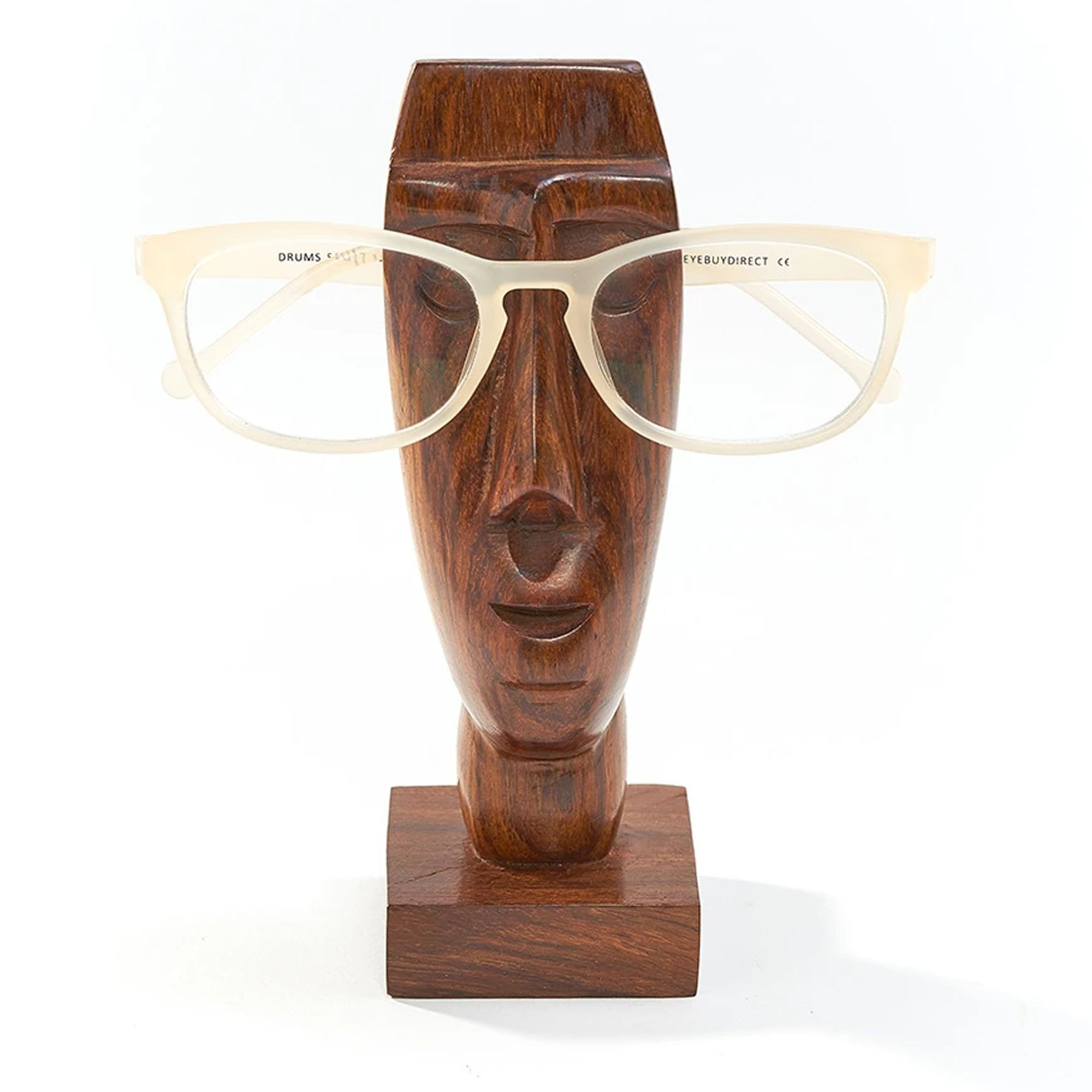 Indian Rosewood Rapa Nui Eyeglass Holder - Matr Boomie