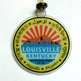 Louisville Suncatcher/Ornament Recycled Glass - Ecuador