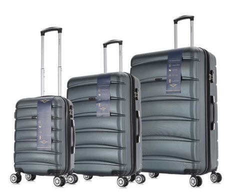 Morano Cascade Hardcase 3PC Luggage Set