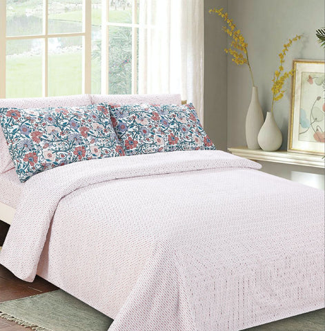 Imperial Bamboo Printed 6-Piece Sheet Set - Floral Graden
