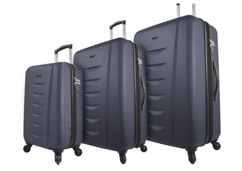 Mia Viaggi Lanciano Hardcase 3PC Luggage Set