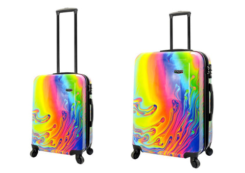 Mia Viaggi Printed Hardcase 2PC Luggage Set - Riflex