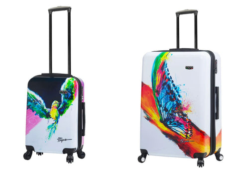 Mia Viaggi Printed Hardcase 2PC Luggage Set - Natura