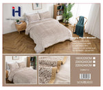 Imperial Home -Super Soft Reversible Heavy Bedding Blanket - Beige