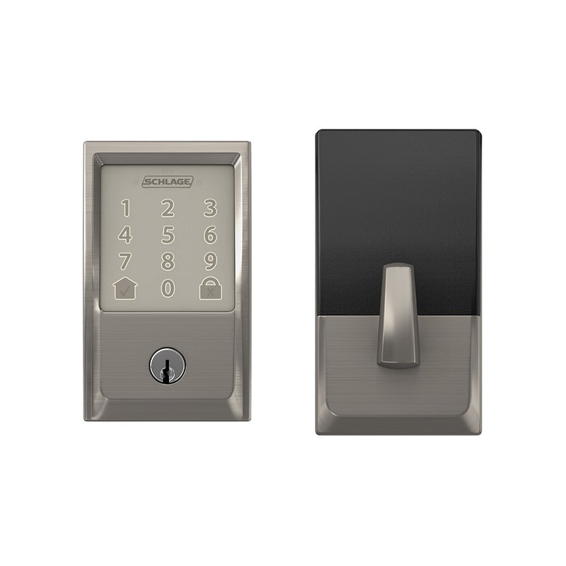 Schlage Encode BE 489 Deadbolt Century Trim