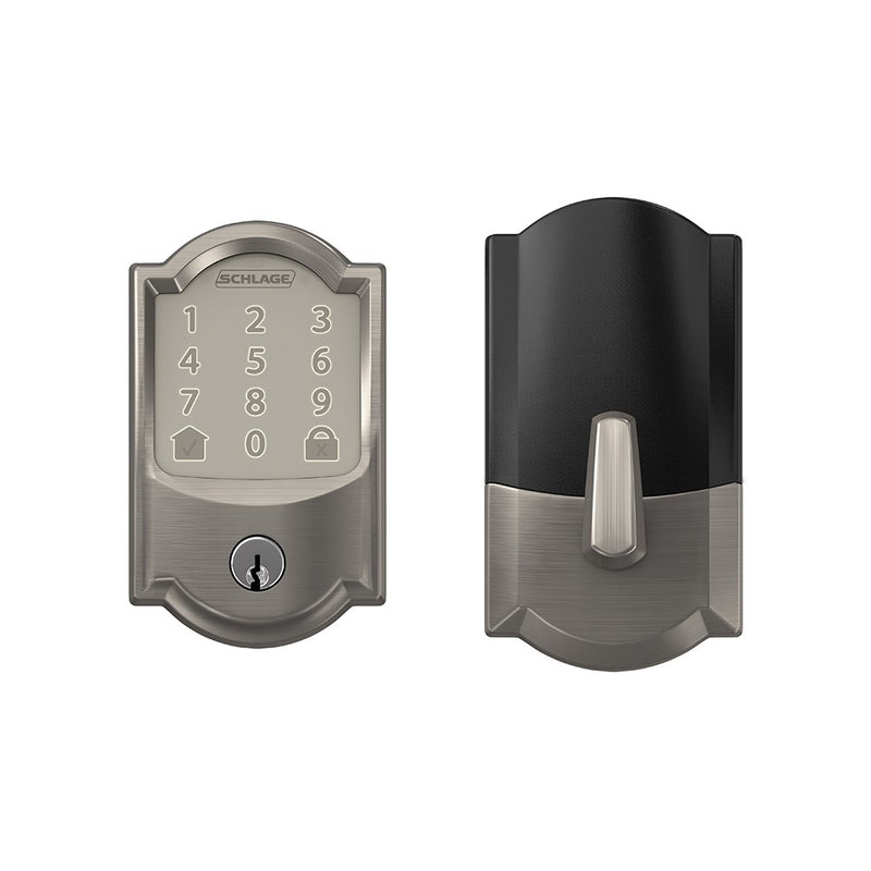 Schlage Encode BE 489 Camelot Trim