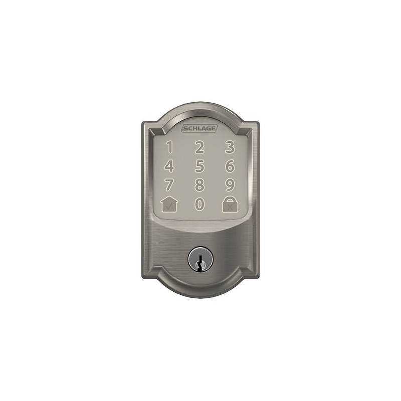 Schlage Encode BE 489 Deadbolt Camelot Trim