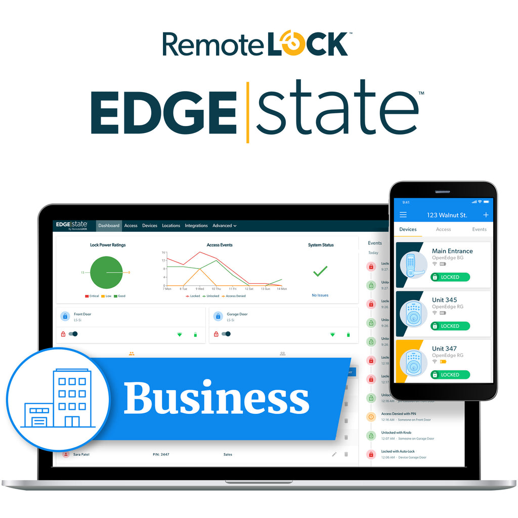 RemoteLock Software Business Subscription Code