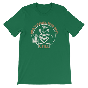 "St. Patty's Day Exclusive Tee - ""Don't Drink and Dive"""