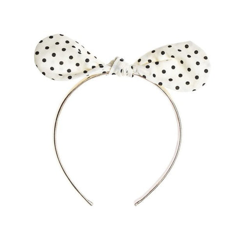 Spotty Bow Headband