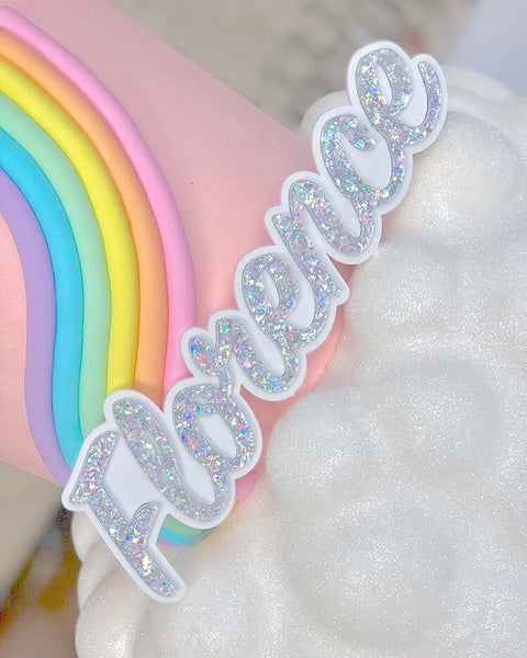 LUXE NAME - Cake Topper (giant)