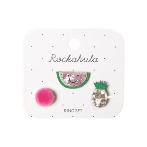 Happy Watermelon Ring Set