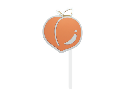 LIFE'S PEACHY - Cake Topper