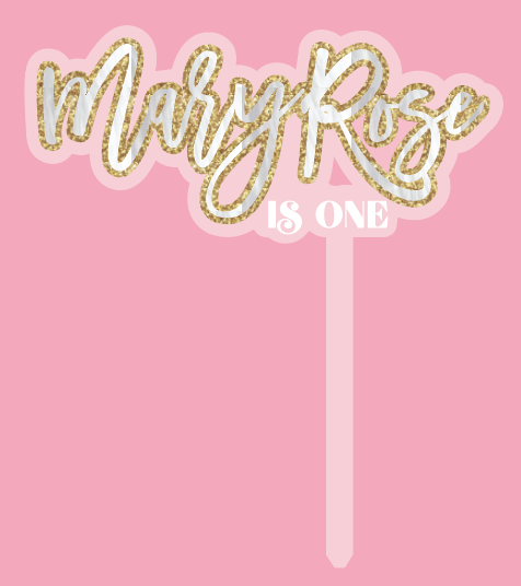 CUSTOM | MARY ROSE is ONE