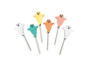 PASTEL MINI GHOST - Cake Topper Set