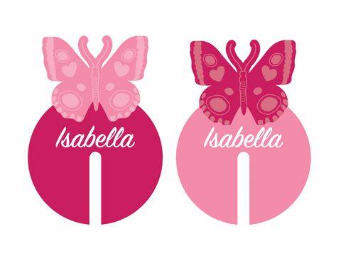 CUSTOM | BUTTERFLY MARKERS
