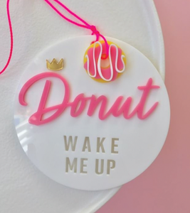 CUSTOM | DONUT SIGN