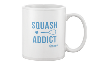 Squash Addict Coffee Mug