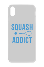 Load image into Gallery viewer, iPhone X case - Squash Addict