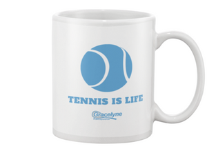 Tennis is Life Coffee Mug