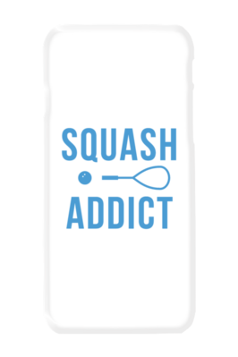 iPhone X case - Squash Addict