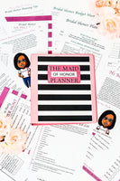 The Maid of Honor Planner (60 Pages)