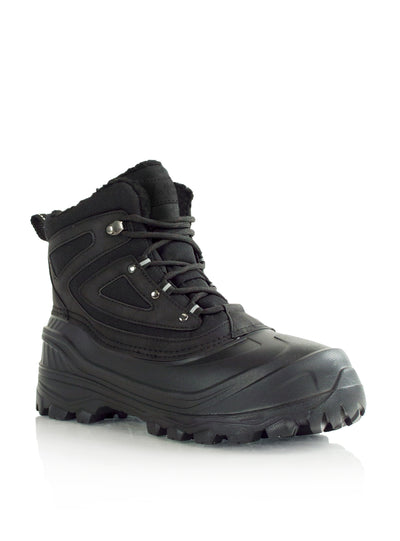 Cedar black ultralight waterproof mens boots