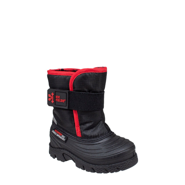 black_alternate insulated waterproof infants boots