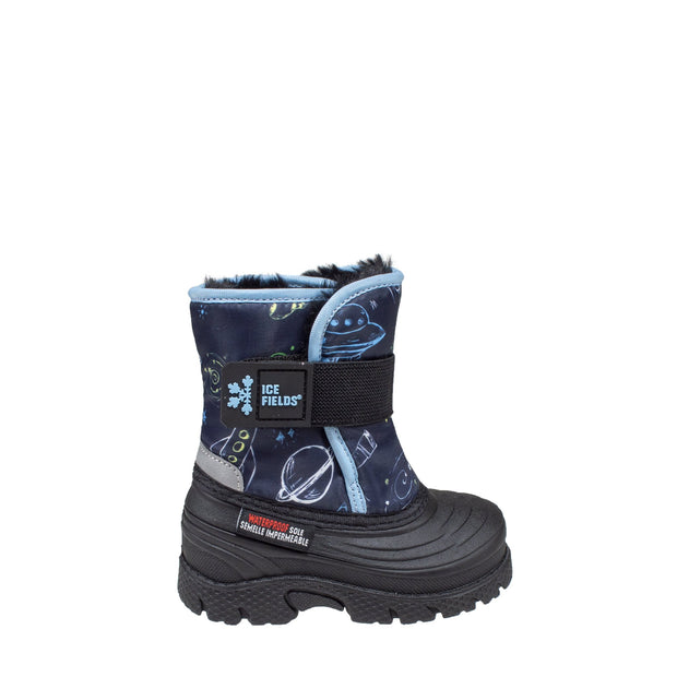 navy insulated waterproof infants boots