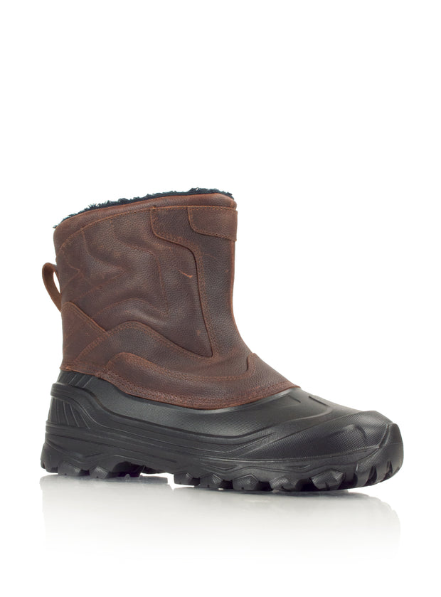 Grizzly brown mens ultralight waterproof boot