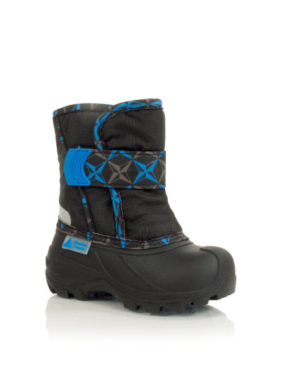 Lumino blue cute infants waterproof winter boots
