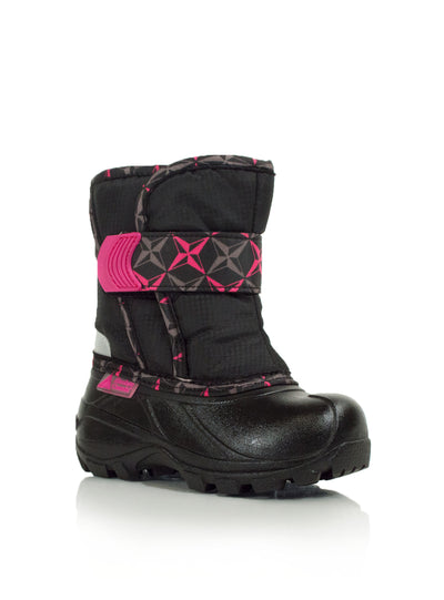 Lumino pink cute infants waterproof winter boots