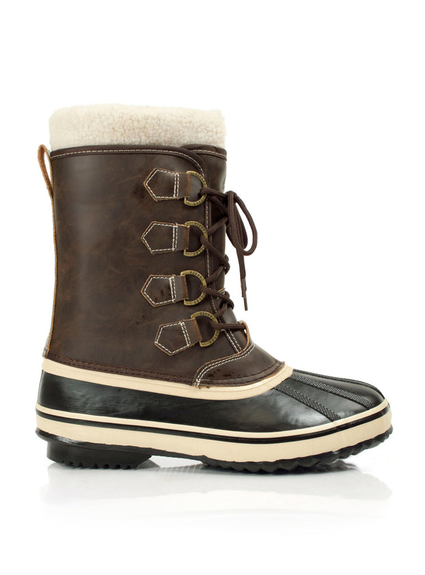 Nomad 2 brown mens waterproof boots