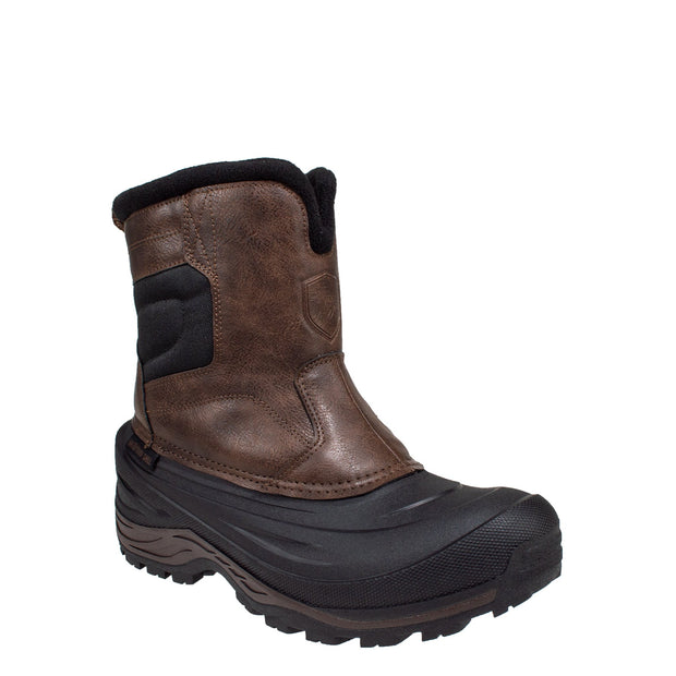 brown_alternate insulated anti-slip men's winter boots