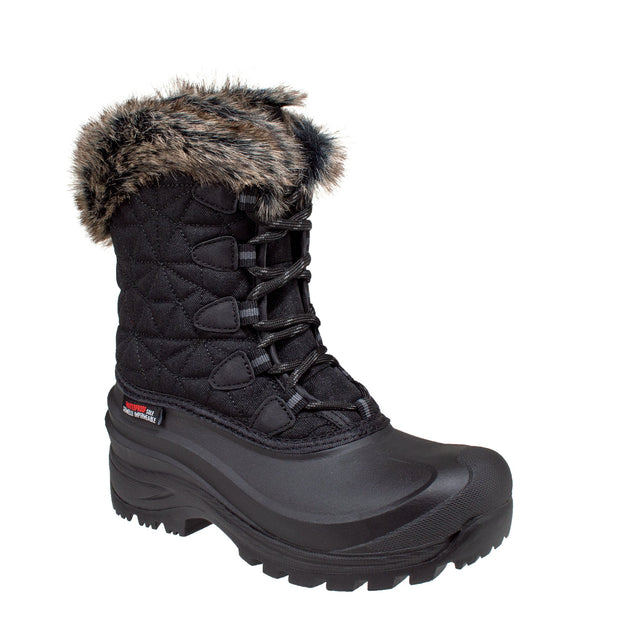 black_alternate women's insulated winter boots
