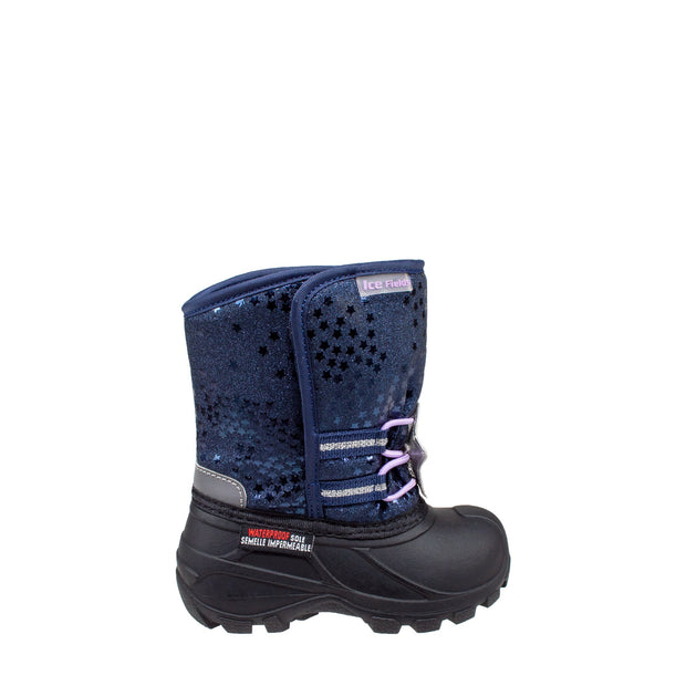 navy warm infants winter boots