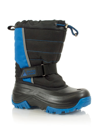 Snowblocker blue kids winter waterproof boot