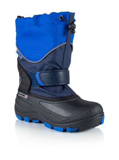 Snowblocker 2 blue boys warm waterproof boots
