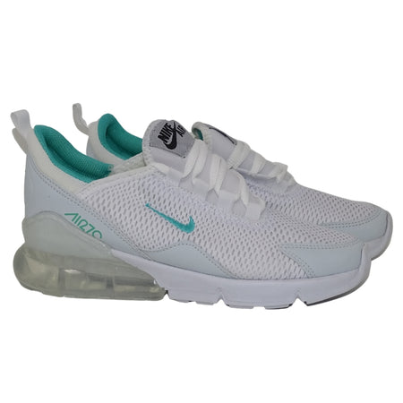 N370 TENIS NIKE 270-M COLOR BLANCO AQUA