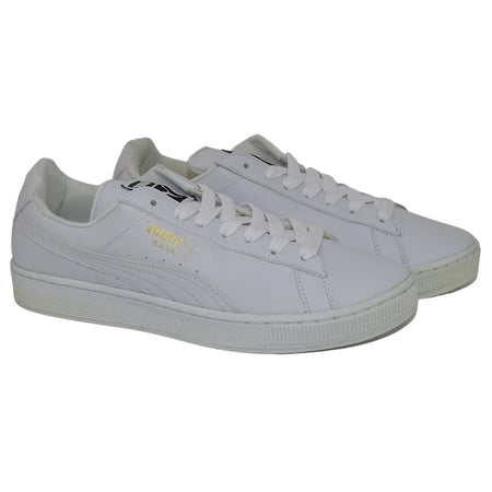 N370 TENIS PUMA BASKET COLOR BLANCO/BLANCO