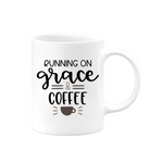 Running On Grace Mug