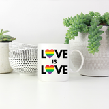 Love Heart Is Love Heart Mug