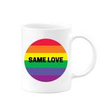 Same Love Black Mug