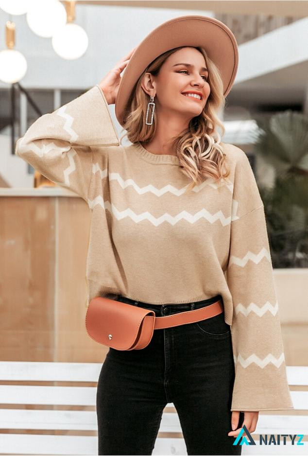 LJAMY O-NECK PULLOVER SWEATER